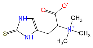 The fungal metabolite ergothioneine